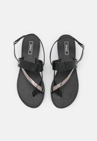 ONLY SHOES - ONLMELLY TOE SPLIT  - Sandály s odděleným palcem - black - 5