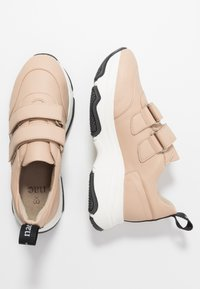 NAE Vegan Shoes - COLINE - Matalavartiset tennarit - nude - 3