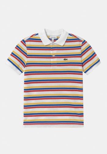 Polo shirt - white/anthemis-lazuli-cinnabar