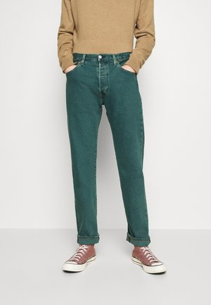 501® BIRTHDAY '93 STRAIGHT - Jeansy Straight Leg - blue eyes mallard green