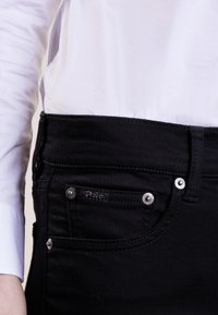 Polo Ralph Lauren - SUPER SKINNY - Slim fit jeans - black - 3