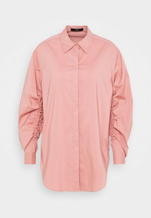 CLEMANDE FANCY SLEEVE BLOUSE - Button-down blouse - blush rose