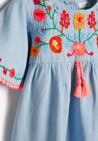 Next - Day dress - blue denim - 2