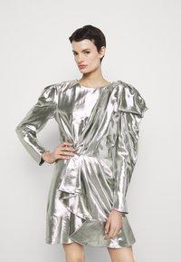 Alberta Ferretti - ABITO - Robe de soirée - silver - 0