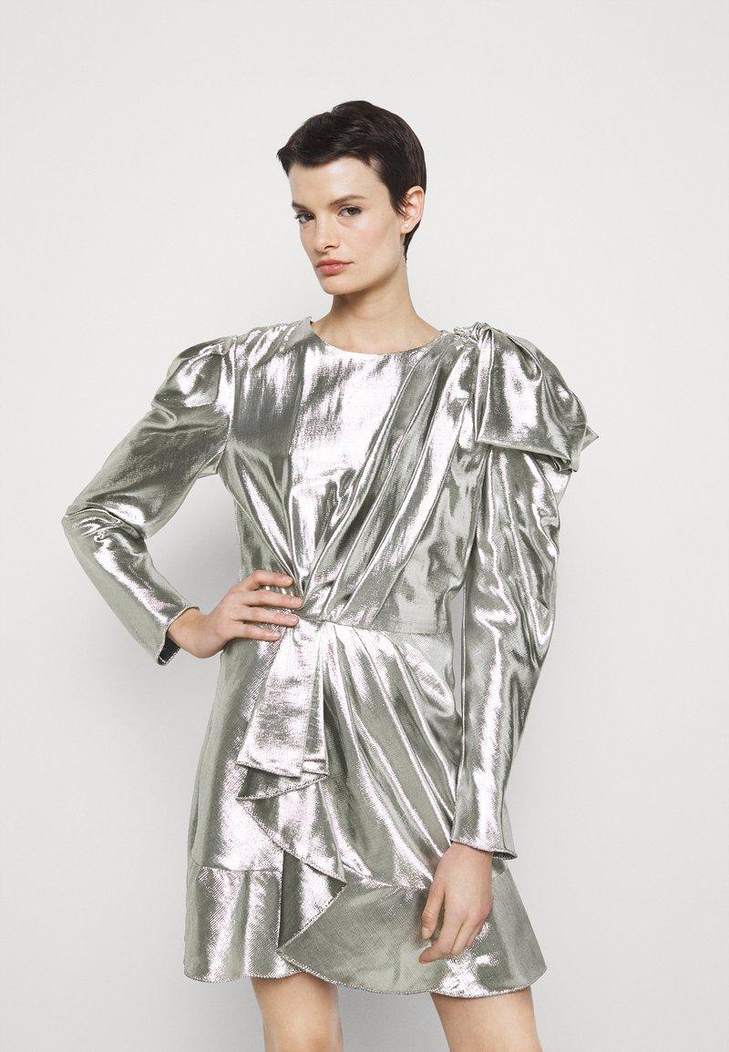 Alberta Ferretti - ABITO - Robe de soirée - silver