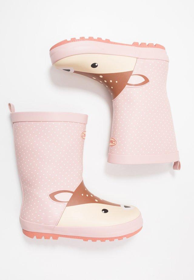 DILLON - Bottes en caoutchouc - pink