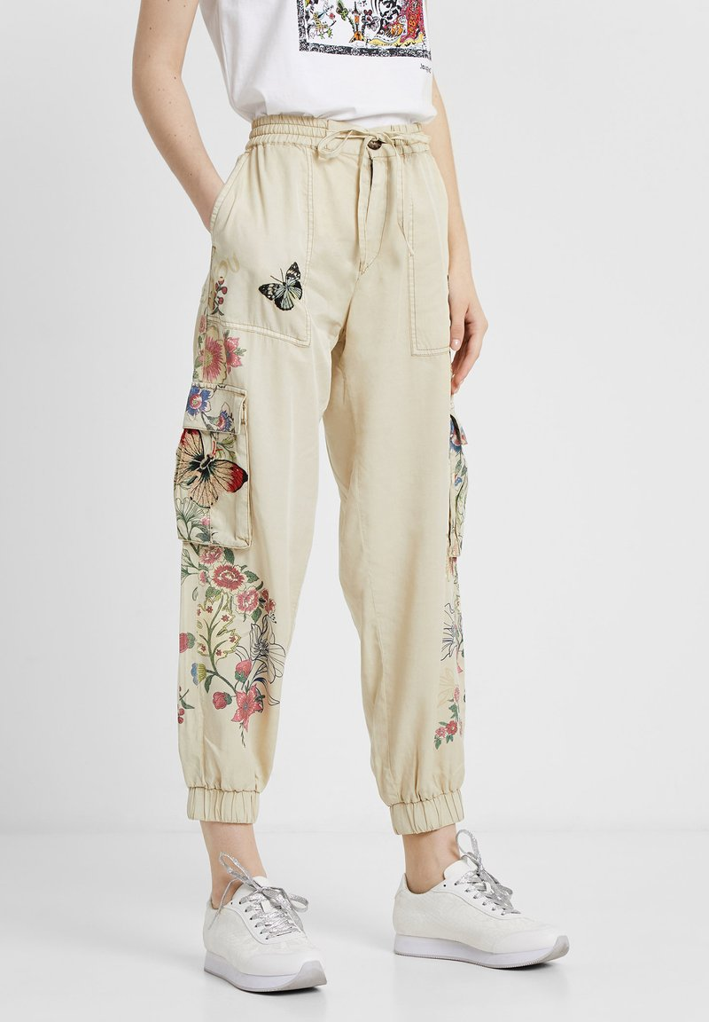Desigual - PANT_DAVINIA - Pantalon de survêtement - brown
