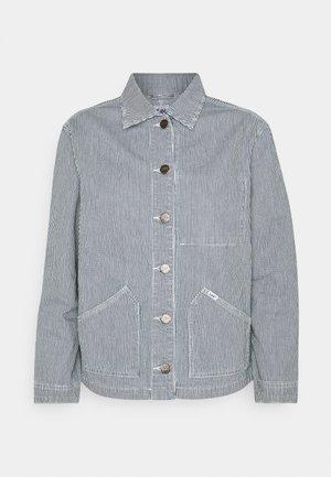 WORKER JACKET - Denim jacket - dark blue
