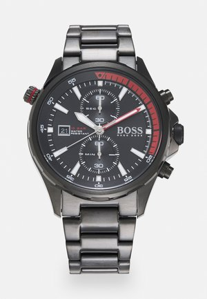 GLOBETROTTER - Chronograph watch - black