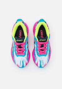 ASICS - GEL-NOOSA TRI 13 UNISEX - Competition running shoes - digital aqua/hot pink - 3