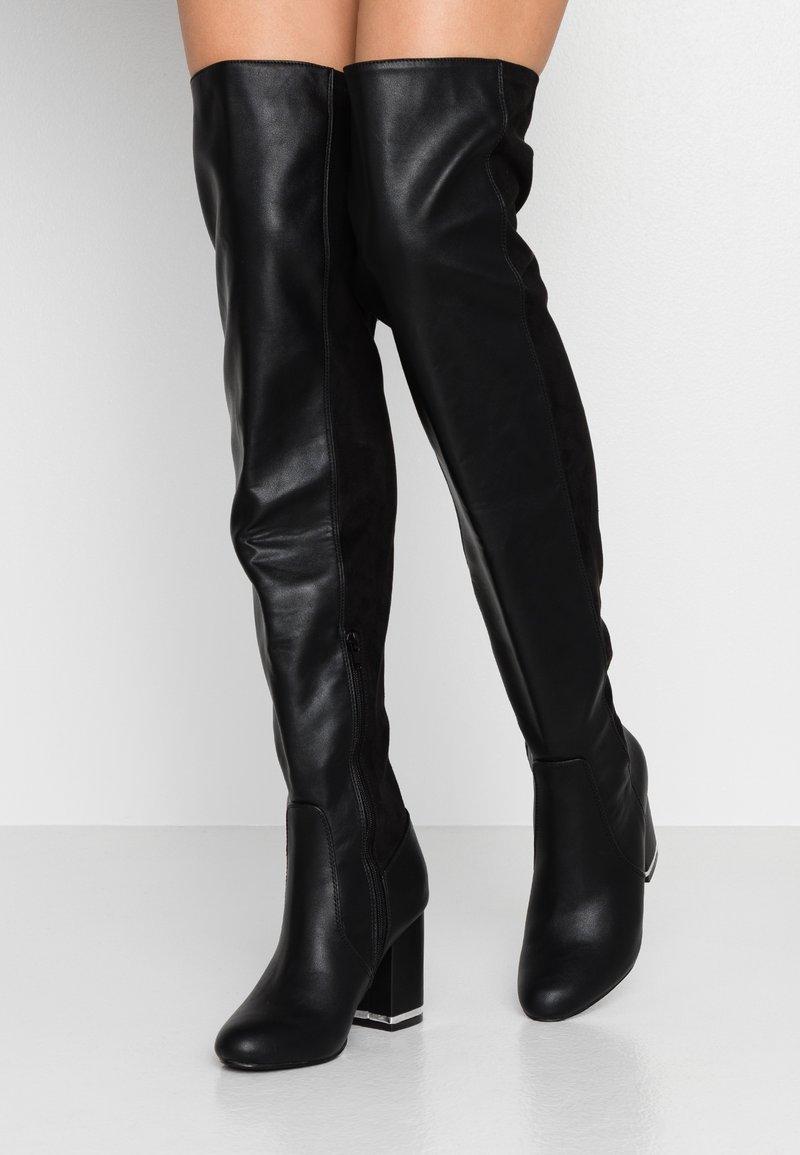 Even&Odd - Boots med høye hæler - black