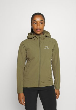 GAMMA SL HOODY WOMENS - Outdoor jacket - light tatsu