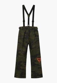 Brunotti - FOOTSTRAP BOYS - Zimní kalhoty - pine grey - 1