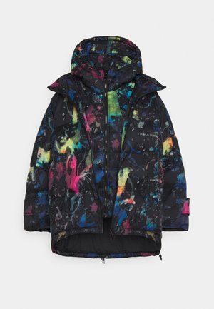 JANUA - Zimní kabát - black/multicolour