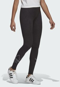 adidas Originals - Legging - black melange - 1