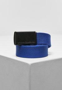 Urban Classics - 2 PACK - Belt - black+blue - 1