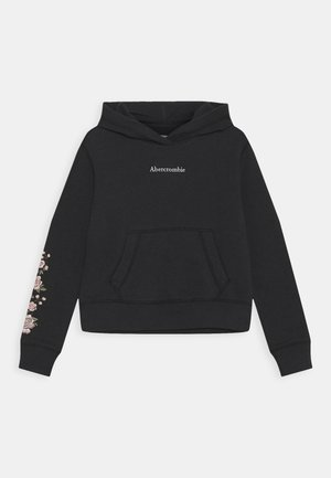EMBROIDERY - Sweatshirt - charcoal