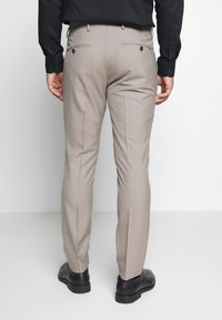 Selected Homme - SLHSLIM SUIT - Kostym - beige - 5