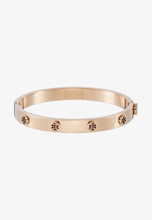 LOGO STUD HINGE BRACELET - Náramek - rose gold-coloured