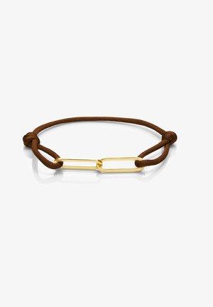 14 CARAT GOLD - Armband - braun