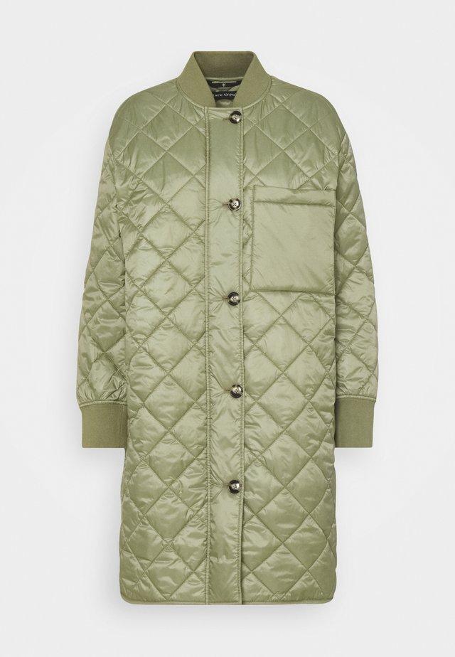 Classic coat - dried sage