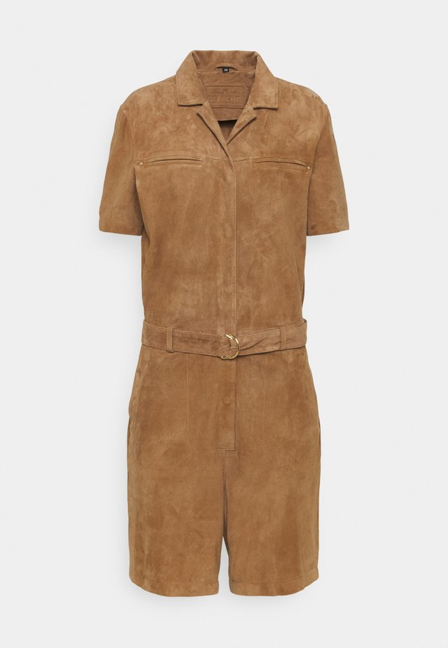PLAYSUIT - Overall / Jumpsuit /Buksedragter - sand