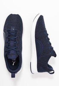 Puma - SOFTRIDE VITAL CLEAN - Zapatillas de running neutras - peacoat/black/white - 1