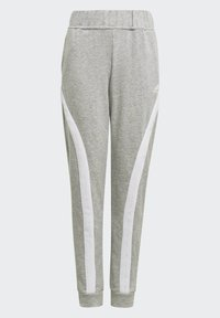 adidas Performance - BOLD HOODED TRACKSUIT - Tracksuit bottoms - grey - 3