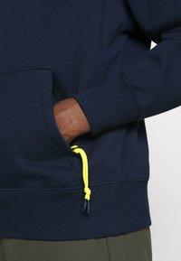 Tommy Jeans Plus - DETAIL HOODIE UNISEX - Sweat à capuche - twilight navy - 5
