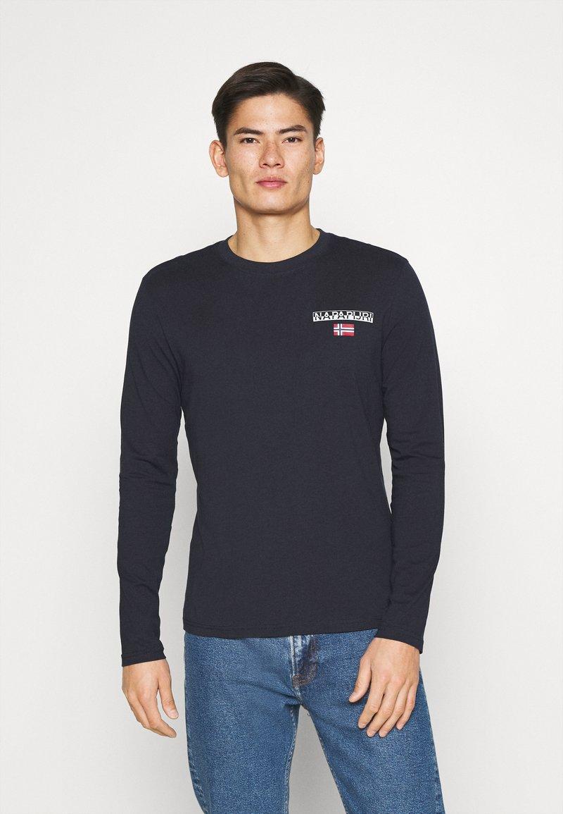 Napapijri - S-ICE  - Langarmshirt - blu marine