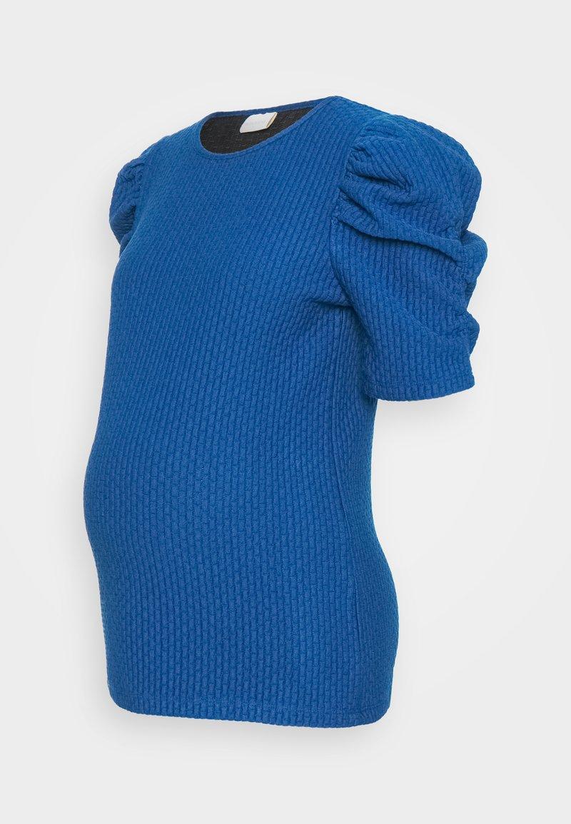 MAMALICIOUS - MLLOLA - Print T-shirt - dazzling blue