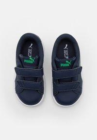 Puma - SMASH UNISEX - Baby shoes - peacoat/white - 3