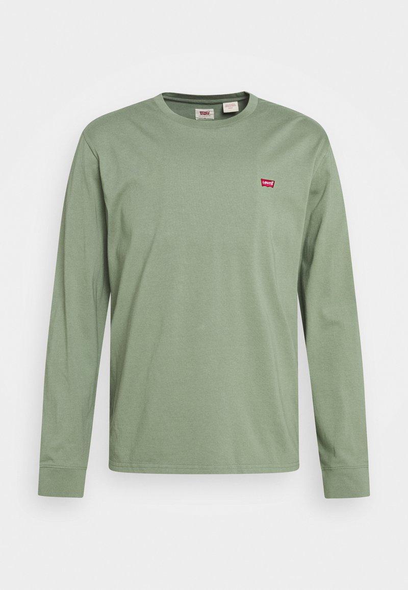 Levi's® - ORIGINAL TEE - Bluzka z długim rękawem - olive night