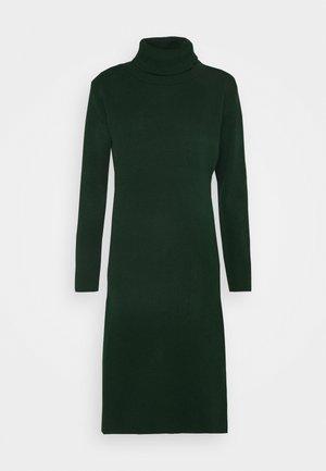 MIDI DRESS - Jumper dress - bottle green