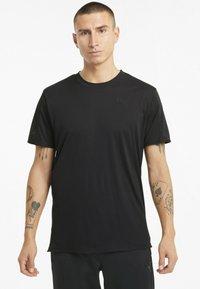 Puma - GRAPHIC  - Print T-shirt - puma black - 0