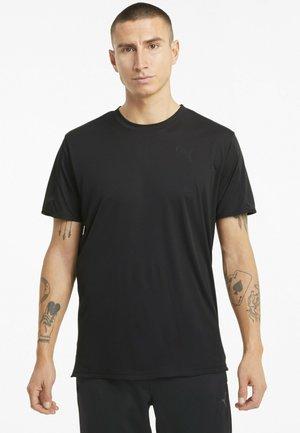 GRAPHIC  - Print T-shirt - puma black