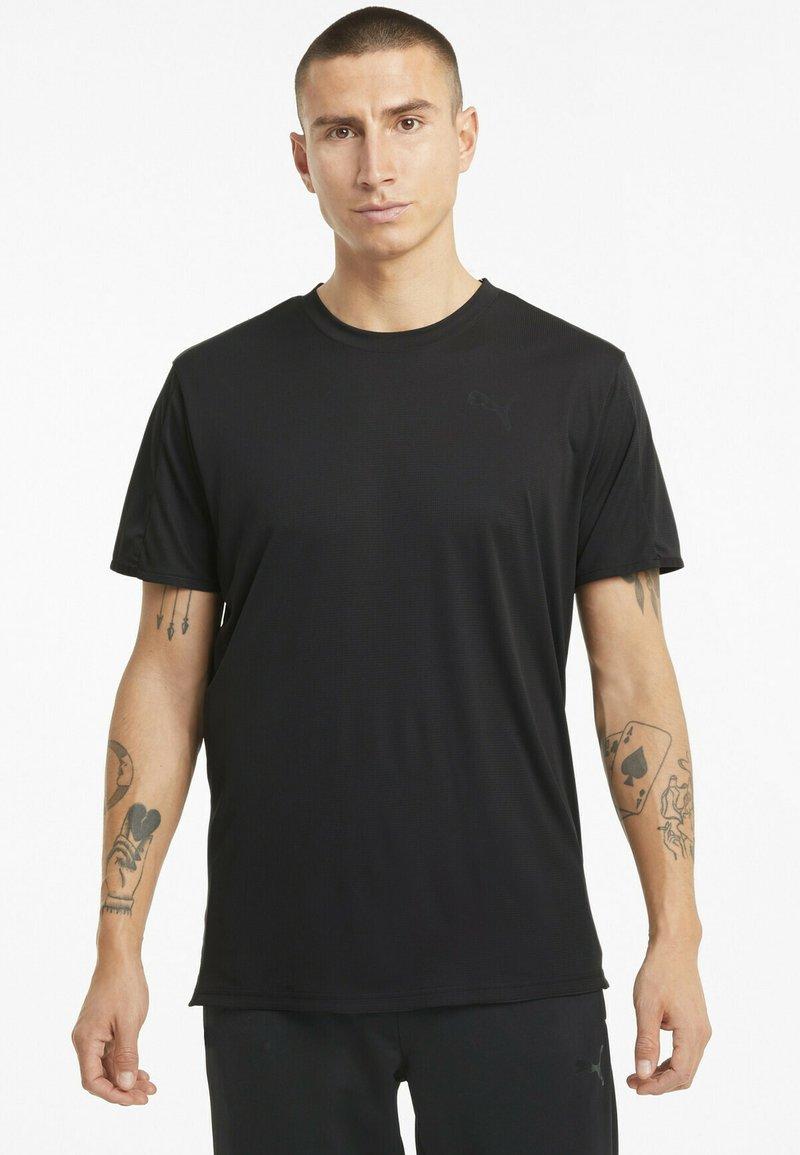 Puma - GRAPHIC  - Print T-shirt - puma black