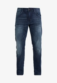 TOM TAILOR - MARVIN - Straight leg jeans - dark stone wash denim blue - 4