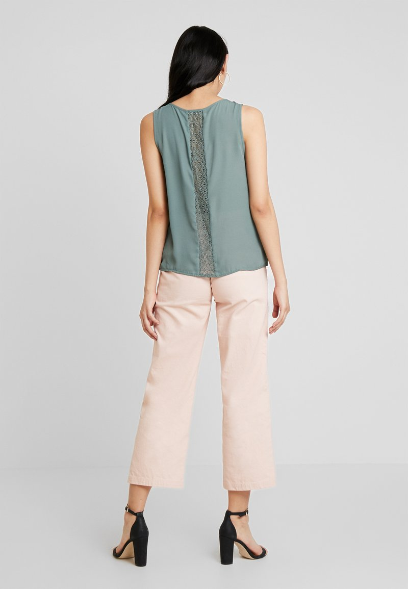 ONLY - CAMILLA DETAIL - Blouse - balsam green