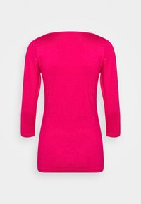 Tommy Hilfiger - BOAT NECK TEE 3/4 - Long sleeved top - bright jewel - 6