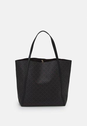HOLIE - Shopping bag - dark chokolate