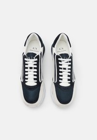 Armani Exchange - Trainers - navy/off white - 3