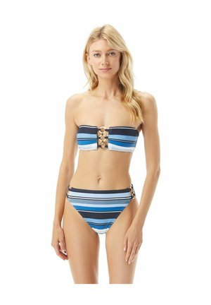 Bikini top - navy multi