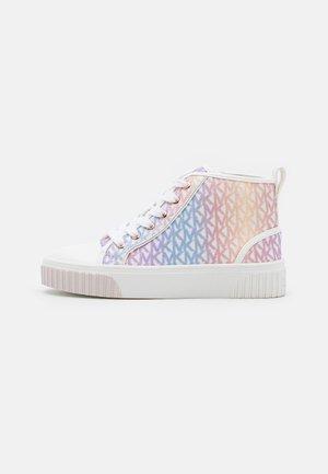 SKATE SPLIT GLITTER - Sneakers hoog - unicorn