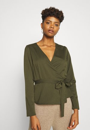 ELASTICO LONG SLEEVED BLOUSE - Blouse - racing green