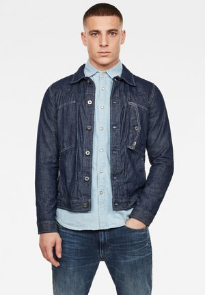 SCUTAR SLIM - Denim jacket - rinsed