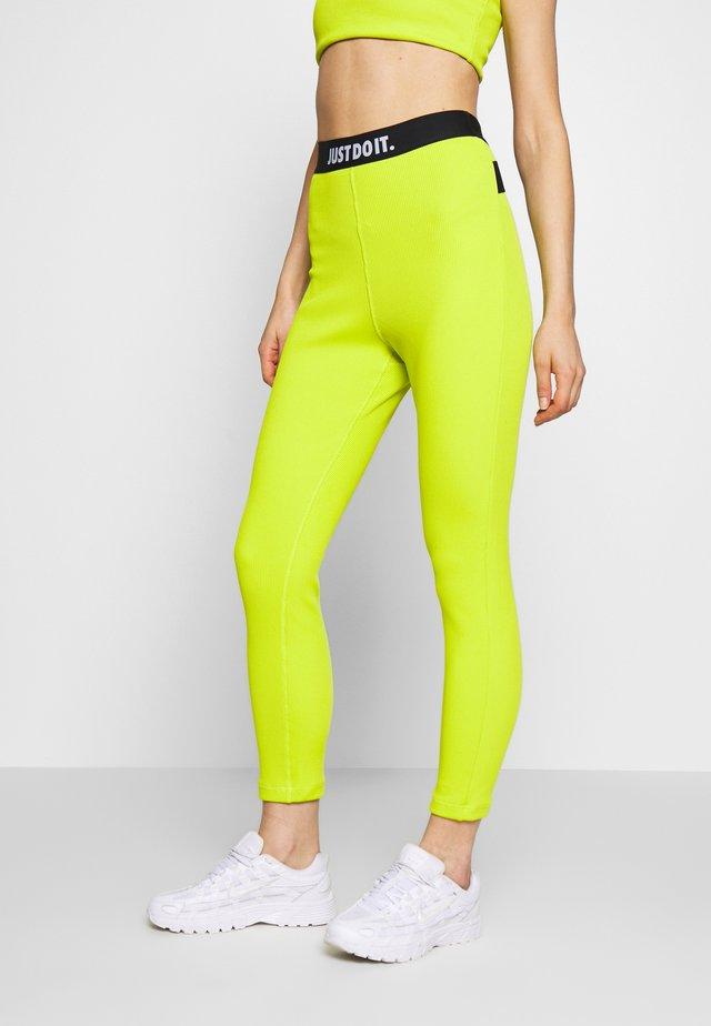 Leggings - Trousers - bright cactus