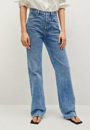 KAIA - Straight leg jeans - middenblauw