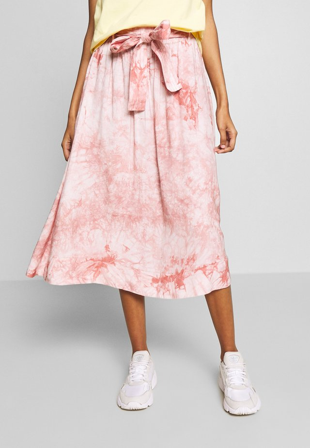 SKIRT - A-linjekjol - rose batil