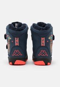 Kappa - LAMA TEX UNISEX - Winter boots - navy/coral - 2